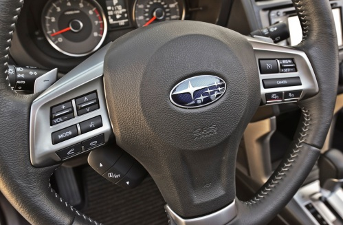 2014 Subaru Forester steering wheel