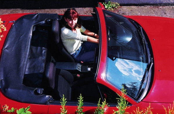 vintage 1990 Mazda MX-5 Miata