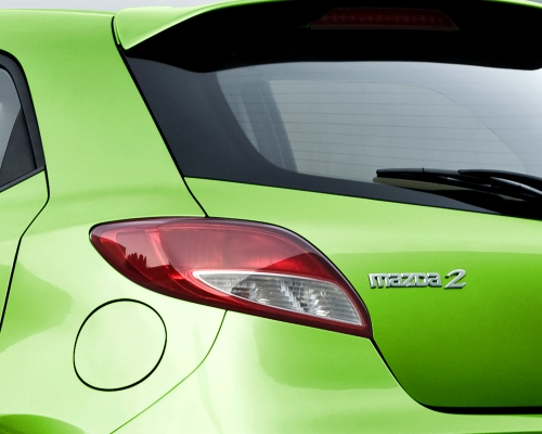 2013 Mazda2 rear