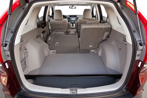 2013 Honda CR-V cargo space