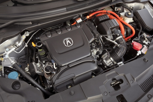 2013 Acura ILX Hybrid engine bay