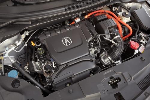 2013 Acura ILX Hybrid engine bay
