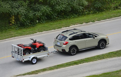 2013 Subaru XV Crosstrek towing