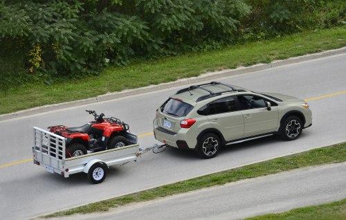 2013 Subaru XV Crosstrek towing