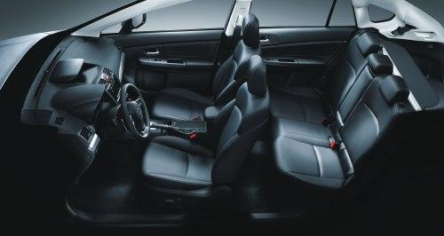 2013 Subaru XV Crosstrek interior