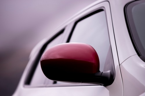 2013 Nissan Juke Nismo red side mirror