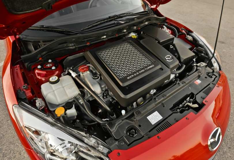 2013 MazdaSpeed3 engine bay