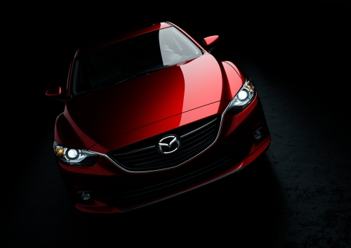 The 2014 Mazda6 in Soul Red, winner of the AJAC 2014 Canadian Car of the Year award