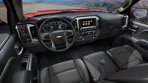 Chevrolet Silverado MyLink system
