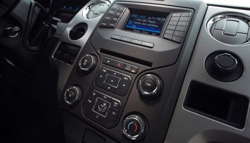 The Ford F-150 MyFord Touch system