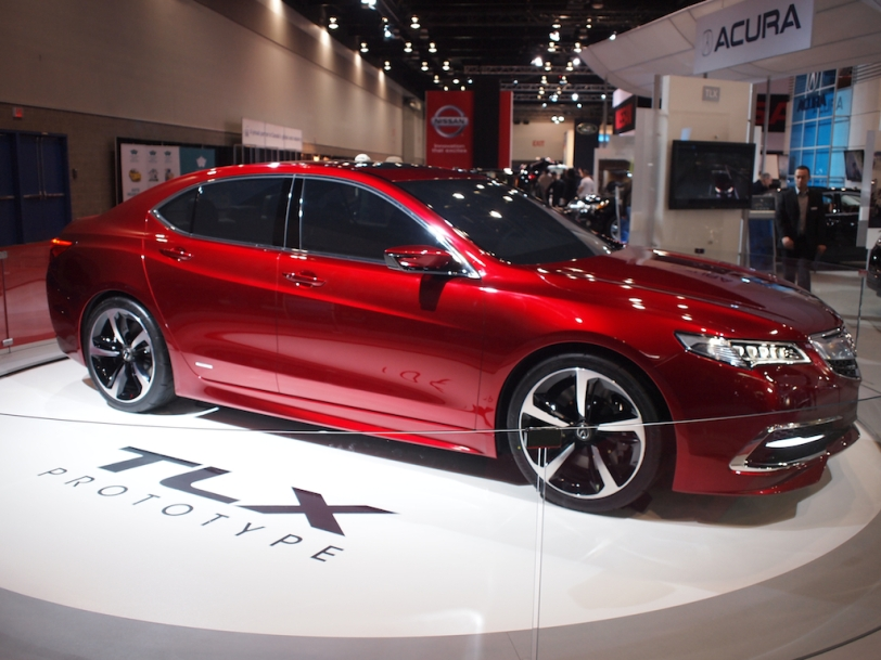 2014 Acura TLX prototype