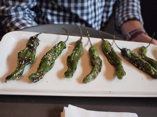 Earls Test Kitchen peppers