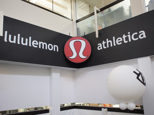 lululemon SSC sign