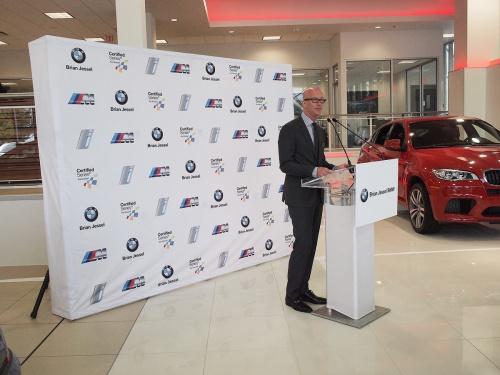 Brian Jessel BMW's Jim Murray
