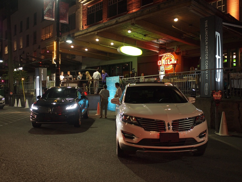 Savour the City 2014 Lincoln MKC at the Hamilton Street Grill