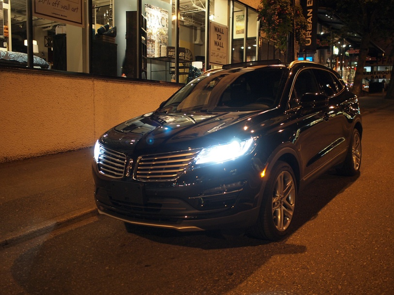 Lincoln MKC at the 2014 Savour the City event at Hamilton Street Grill