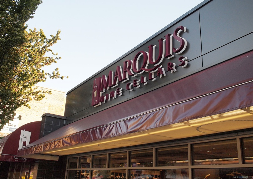 Marquis Wine Cellars, first stop for Tasting Plates YVR West End