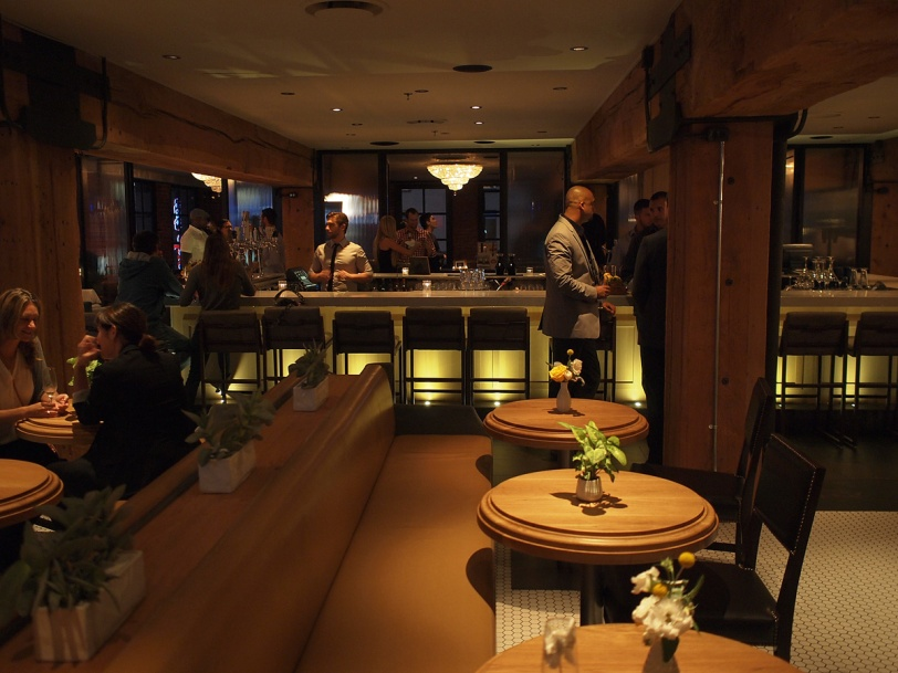 The renovated Loft at Earls Yaletown