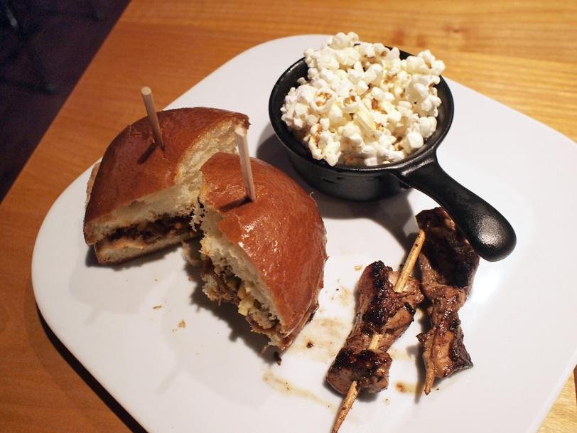 Romer's Burger Bar Tasting Plates Yaletown plate