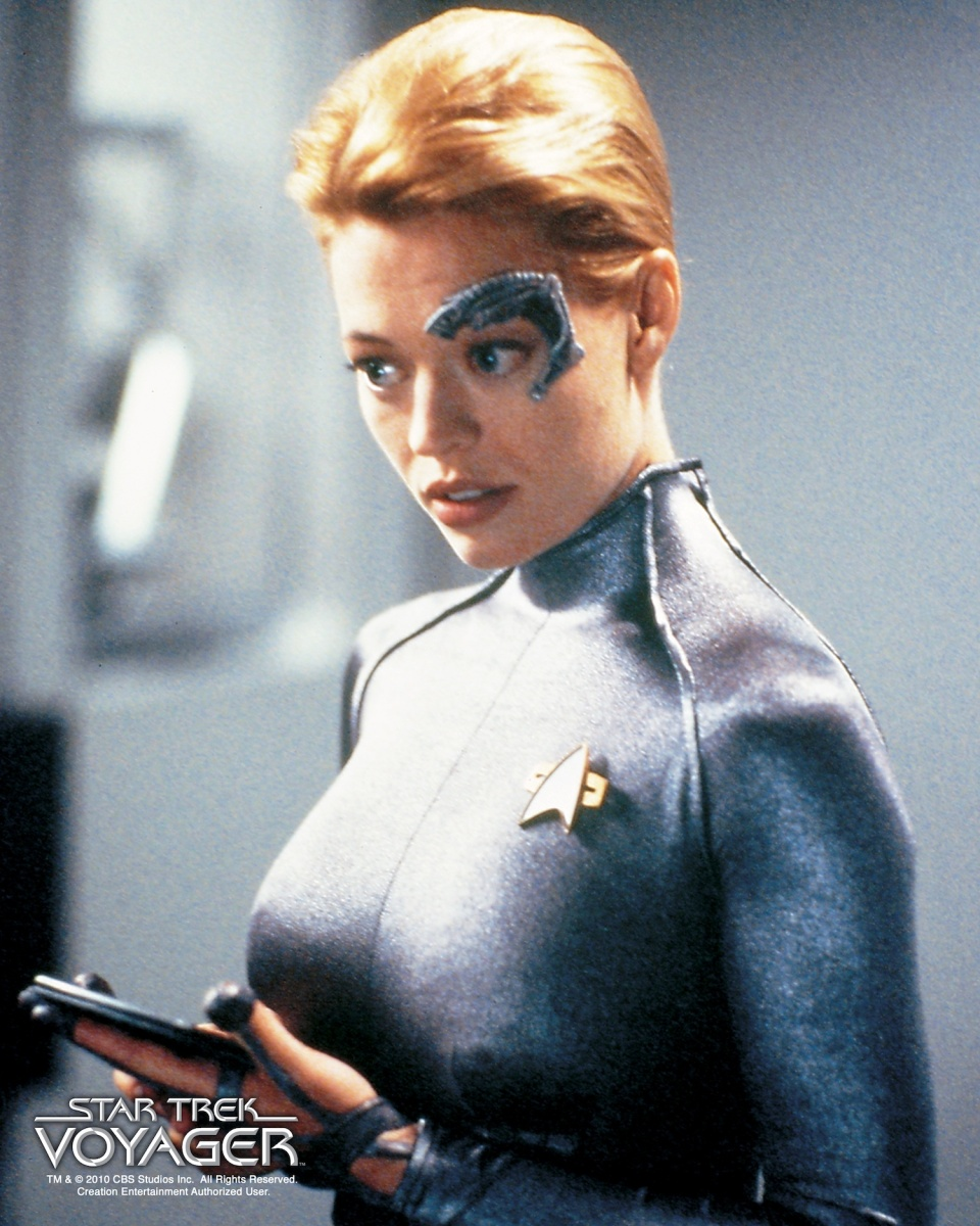 Seven of Nine from Star Trek Voyager