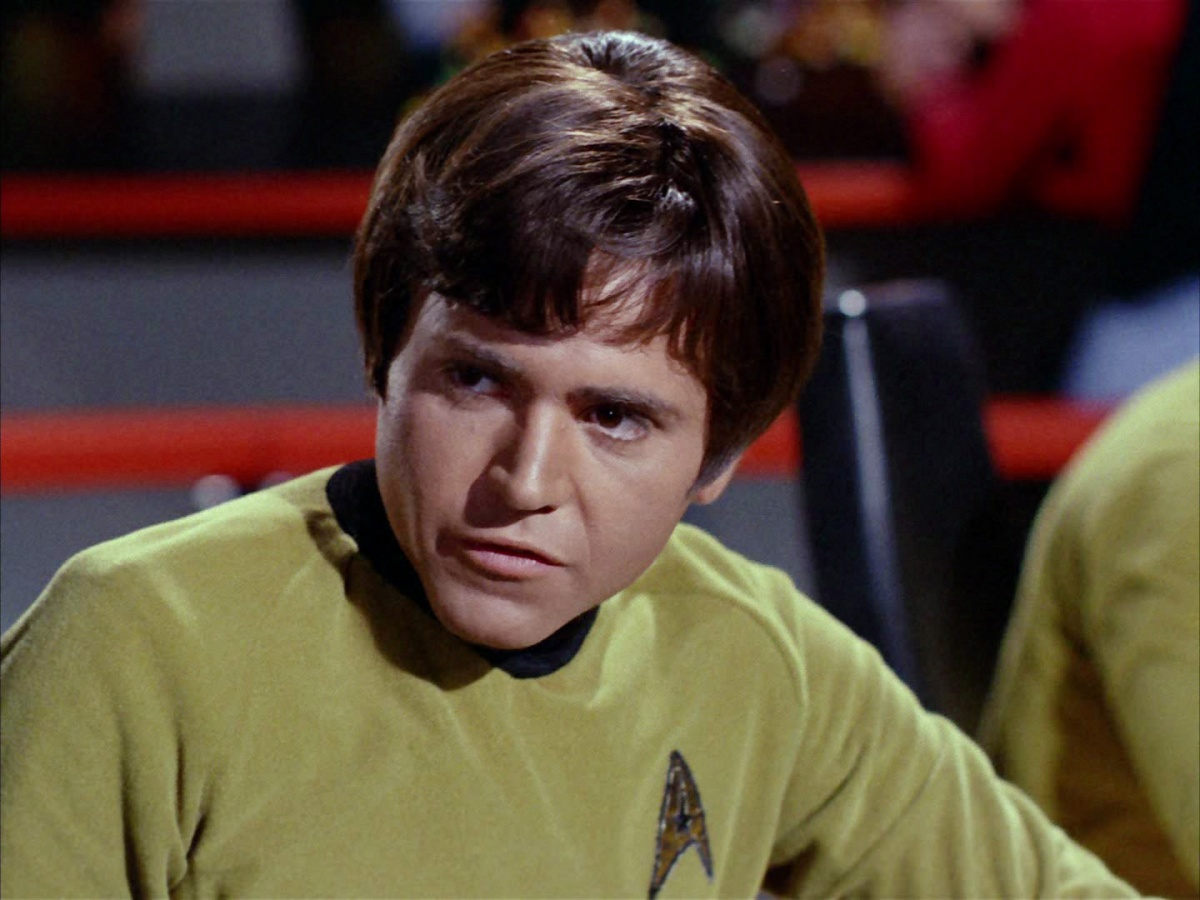 Pavel Chekov from Star Trek TOS