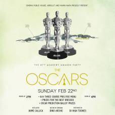 Donnelly Group Cinema Public House Oscars party poster