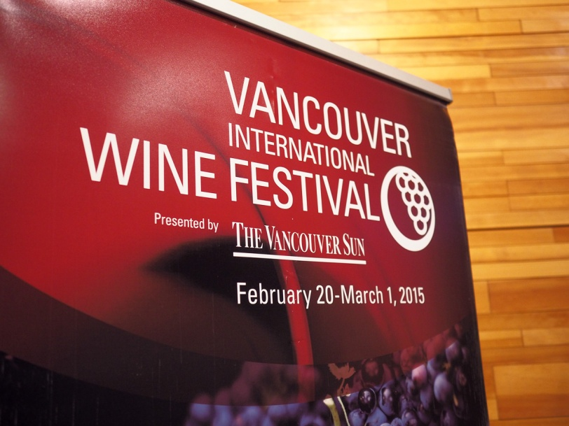 Vancouver International Wine Festival 2015 banner