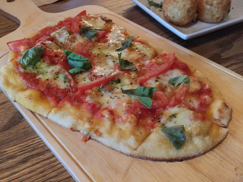 Vancouver Craft Beer Market margherita pizza