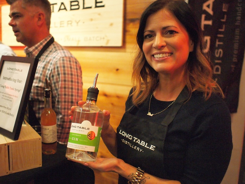 Long Table Distillery at BC Distilled festival
