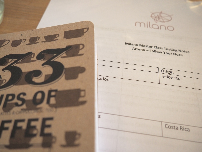 Milano Master Class Series tasting notes
