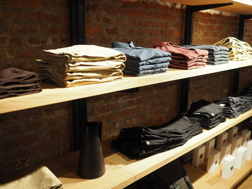 Frank and Oak Vancouver shirts and pants