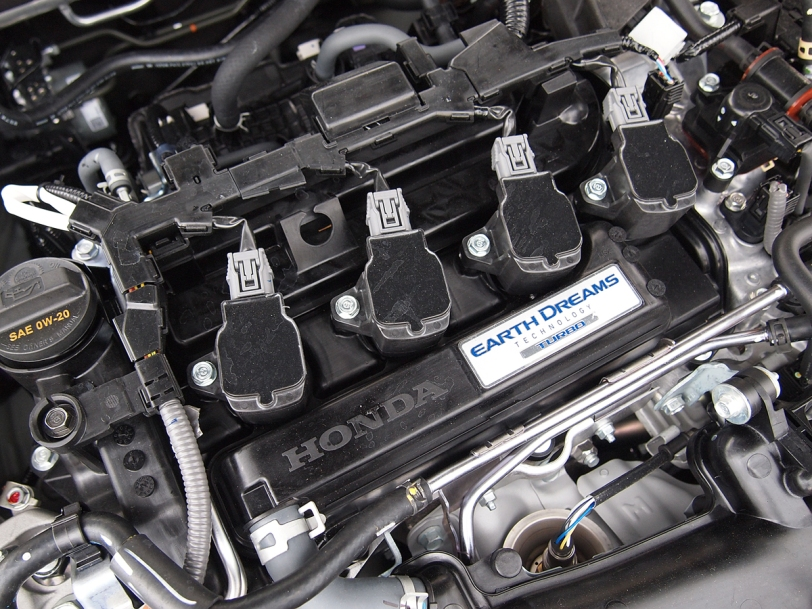 2016 Honda Civic turbo engine