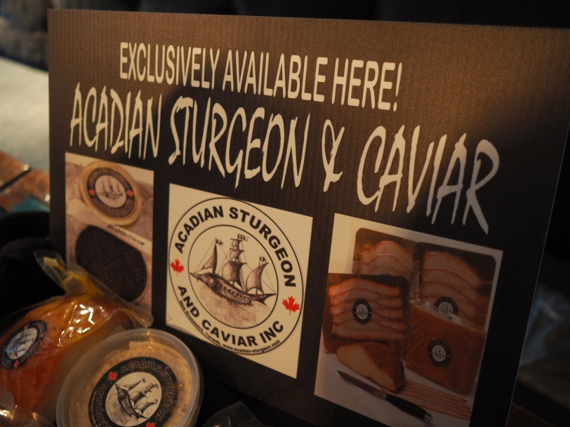 Acadian Sturgeon and Caviar Inc. sign