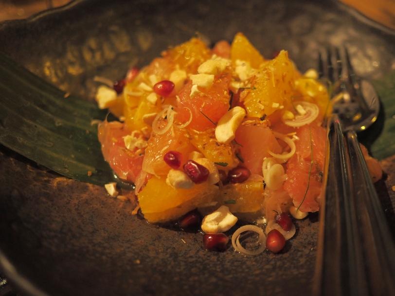 Thai Confusion three citrus salad