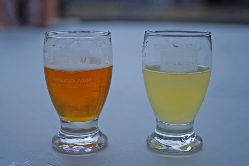 Vancouver Craft Beer Week 2016 glasses