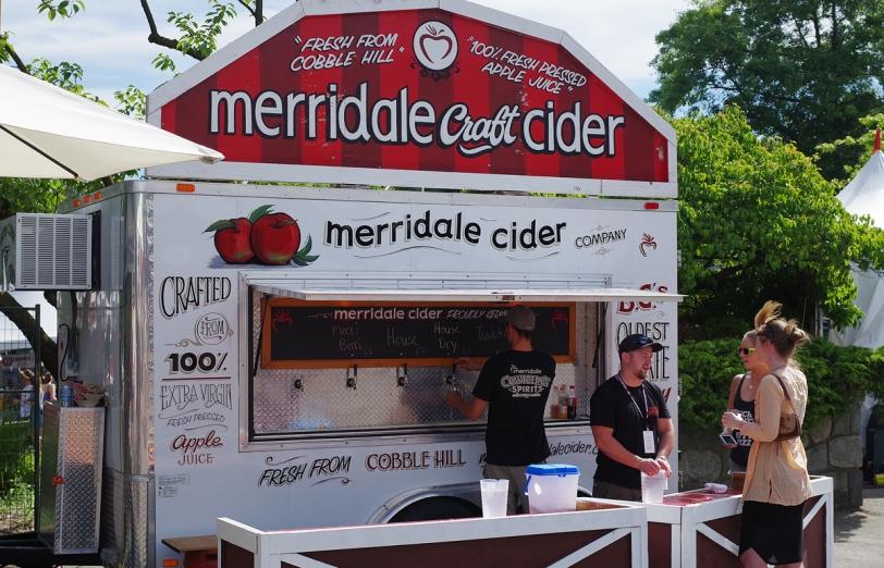 VCBW 2016 Merridale Craft Cider