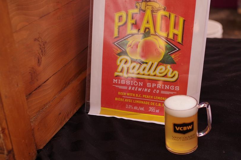 VCBW 2016 peach radler