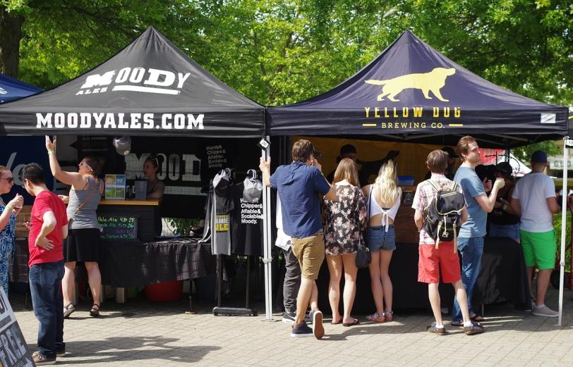VCBW 2016 vendor tents