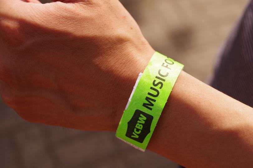VCBW 2016 wristband