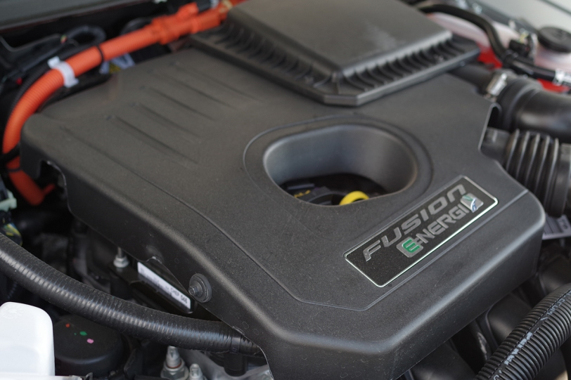 2017 Ford Fusion Energi engine
