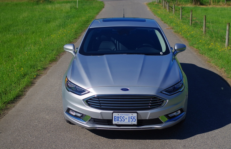 2017 Ford Fusion front