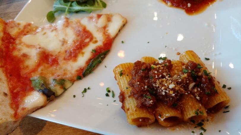 Spacca Napoli Pizzeria tasting plate