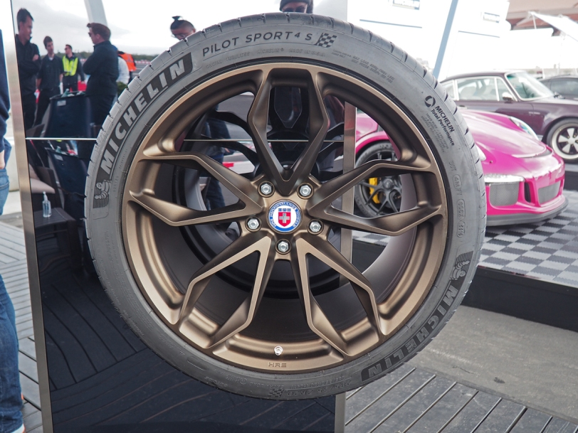 Michelin Pilot Sport 4 S HRE wheel