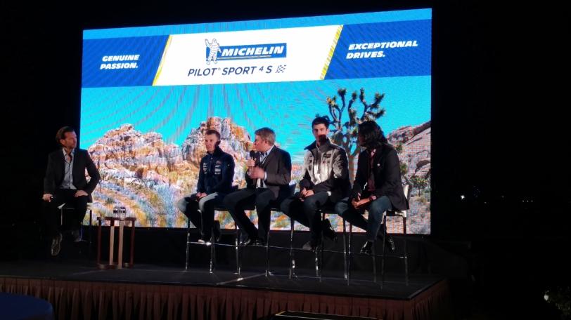 Michelin Pilot Sport 4 S opening ceremonies