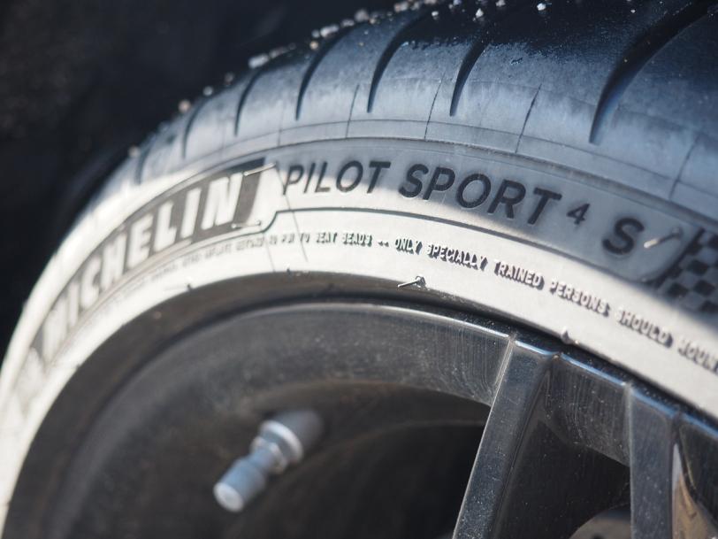 Michelin Pilot Sport 4 S sidewall