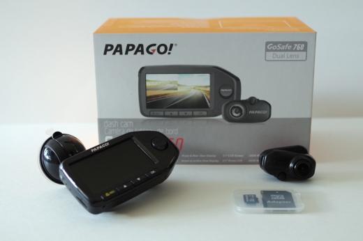 PAPAGO! GoSafe 760 dash camera