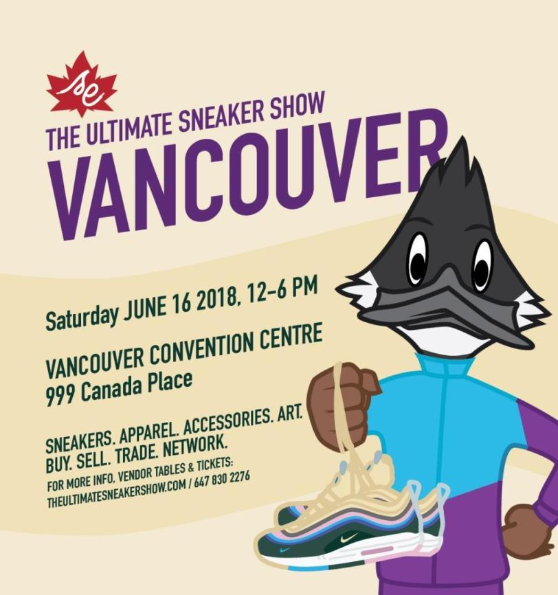 the ultimate sneaker show vancouver