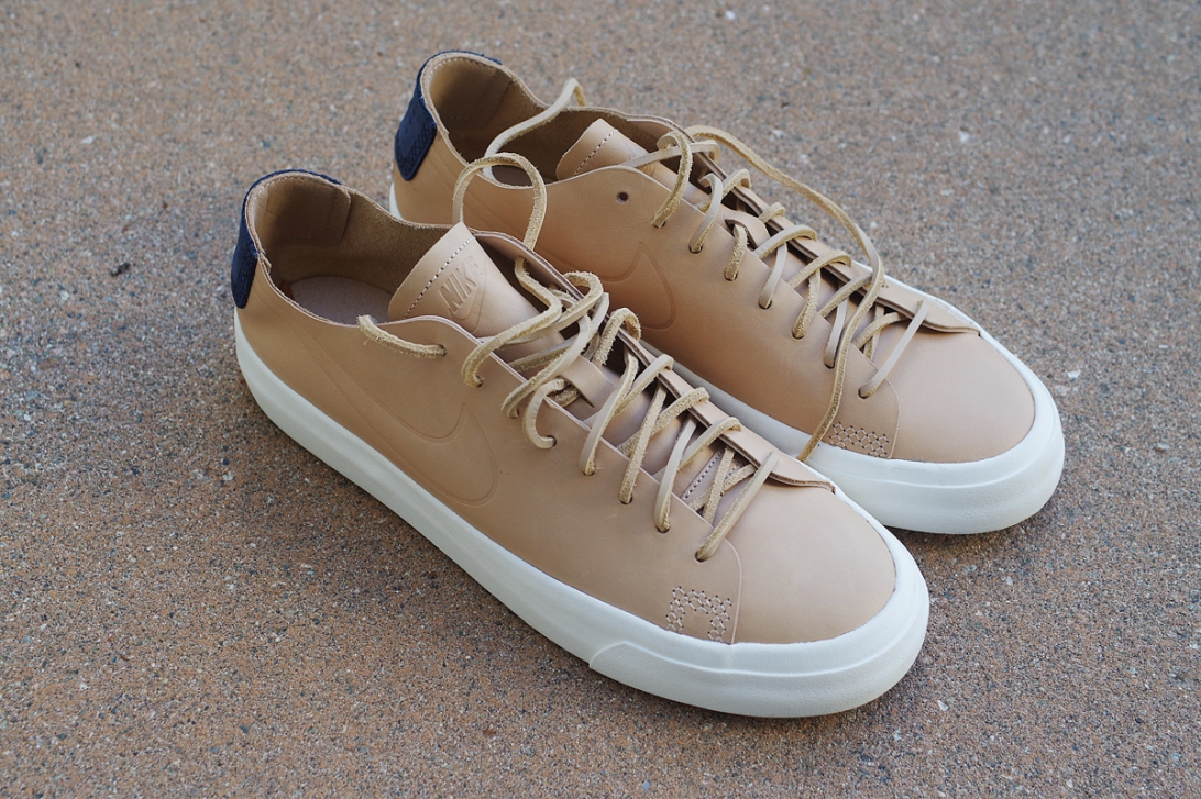 nike blazer studio low vachetta tan