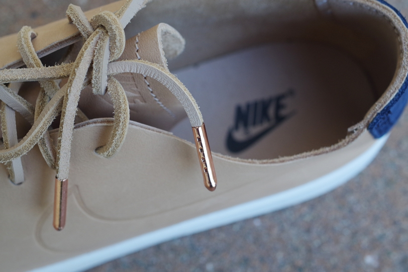 nike blazer studio low vachetta tan shoelaces