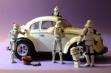 storm troopers detailing volkswagen beetle